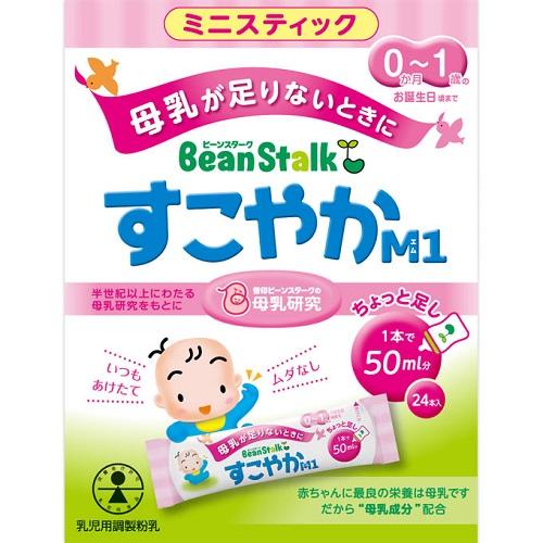 ビーンスターク すこやかM1ミニスティック 6.5g×24本