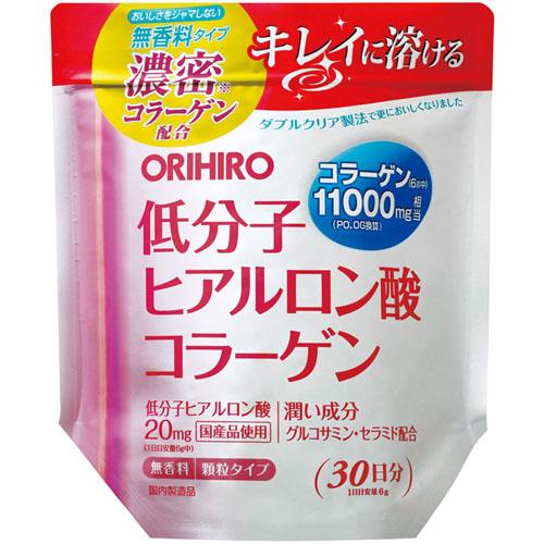[オリヒロ]<br>低分子ヒアルロン酸コラーゲン 180g