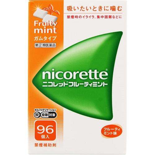 【第(2)類医薬品】【セ税】<br>ニコレット フルーティミント 96個