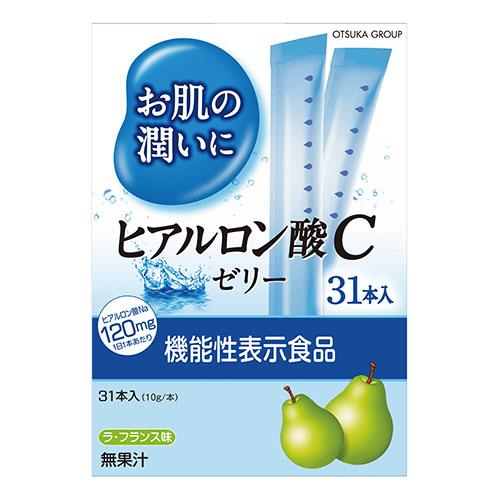 [アース]<br>お肌の潤いにヒアルロン酸Cゼリー 31本入