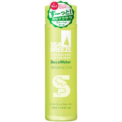 [資生堂]<br>シーブリーズ デオ&ウォーターA ヴァーベナクールの香り 160mL(アルファベットはランダム)