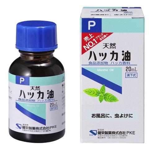 [健栄製薬]<br>ハッカ油P 20ml