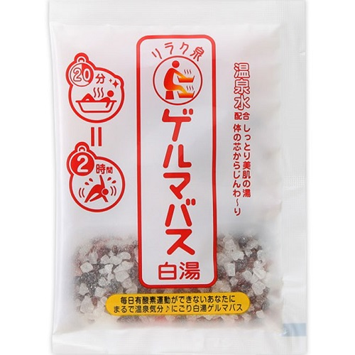 [石澤研究所]<br>リラク泉 ゲルマバス白湯 40g