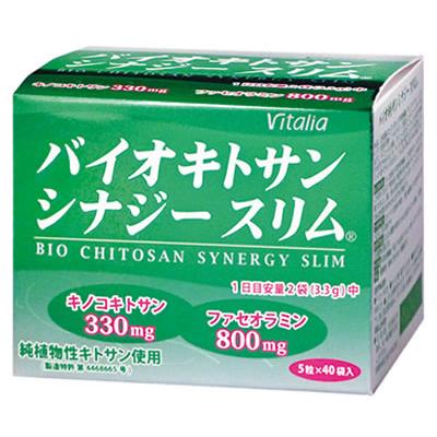 [ビタリア製薬]<br>バイオキトサン シナジースリム 40袋