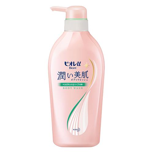 [花王]<br>ビオレu 潤い美肌ボディウォッシュ ベルガモット&ハーブの香り 本体 480ml