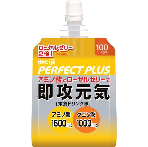 [明治製菓]<br>パーフェクトプラス <br>即攻元気ゼリー 180g