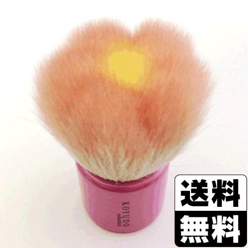 【数量限定】<br>[晃祐堂]<br>熊野筆 フラワー型<br>洗顔ブラシ(ピンク) W1-FPN4JP
